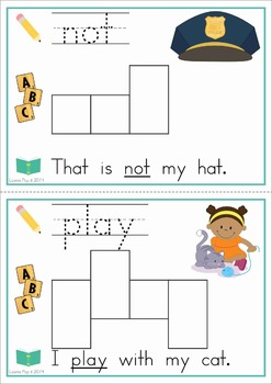 Sight Words Build a Word Center