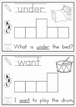 Sight Words Build a Word Center (Primer Words)