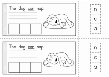 Sight Words Build a Word booklets