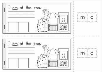 Sight Words Build a Word booklets {Primer Words}