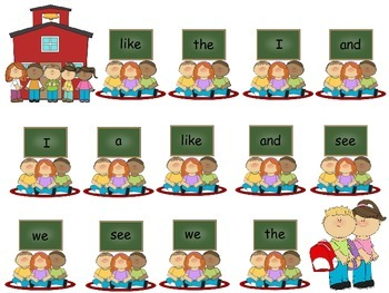 Sight Words - Bump