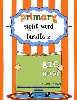 Sight Words Bundle 2 (for Primary Learners: Kindergarten a