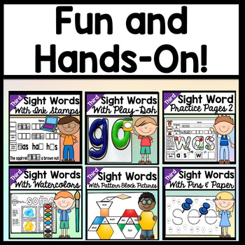 Sight Words Bundle {ALL 19 Third Grade Literacy Centers!}