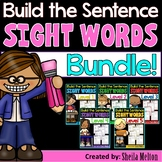 Sight Words Build the Sentence BUNDLE PACK (Save $ with the BUNDLE)