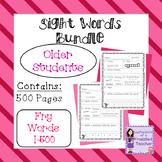 Sight Words Bundle - Fry Words: 1-500 - Older Student Version