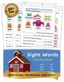 Sight Words Bundle | K thru 2nd