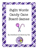 Sight Words Candy Cane Games
