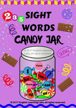 Sight Words Candy Jar !