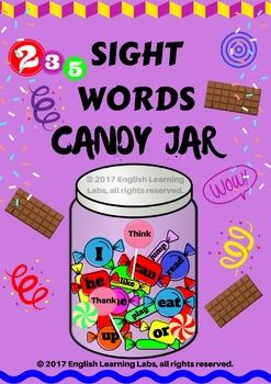 Sight Words Candy Jar !