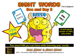 Sight Words Card Game - See and Say 3 DITTO