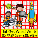 "Sight Words Word Work ""Out of This World"" Level 3 in a Series of 5 - Space Theme"