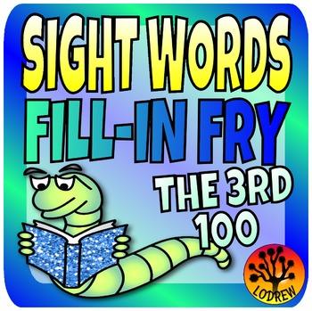 Sight Words Center Literacy Center Fry Words Third 100 201