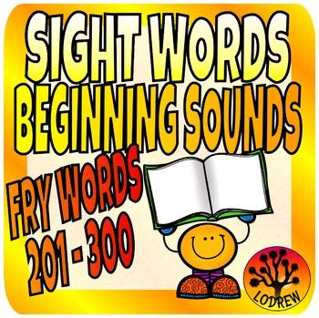 Sight Words Center Literacy No Prep Fry Words Third 100 20