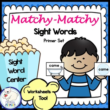 Sight Words Center: Primer List
