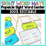 Sight Words Centers Sight Word Practice Popsicle Word Work