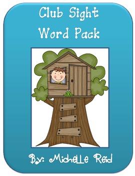 Sight Words - Club Lists