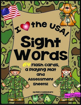 Sight Words +Color and Number Words Flash Cards for K - For All Genders