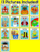 Color by Sight Words Literacy Centers Bundle: Christmas Ac