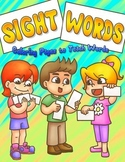 Sight Words Coloring Pages to Teach Words (Preschool)