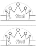 Sight Words Crowns {EDITABLE PDF}