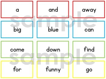 Dolch Sight Words (BUNDLE)