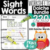Dolche Sight Words Bundle