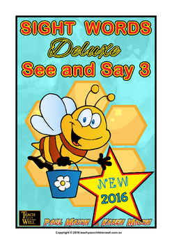Sight Words Deluxe - See and Say 3