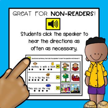 Sight Words Digital Boom Deck - Back to School Theme {LIST 3}