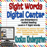 Sight Words Digital Center (Jan Richardson Guided Reading Word List)