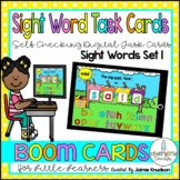 Sight Words Digital Task Cards/ Distance Learning / Boom Cards / Wonders