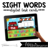 Sight Words Boom Cards™ for Distance Learning | First 100 Words