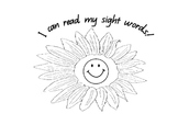 Sight Words Display/Flash Cards