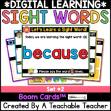 Sight Words Distance Learning SET 2 | Digital Sight Word L