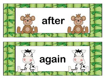 Word Wall: Sight Words Grades 1 and 2