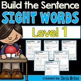 Sight Words Level 1 Build the Sentence