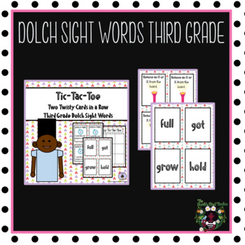 Sight Words (Dolch Third Grade)