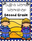 Sight Words for Second Grade {Word Work}
