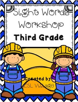 Sight Words for Third Grade {Word Work}