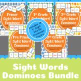Sight Words Dominoes Bundle