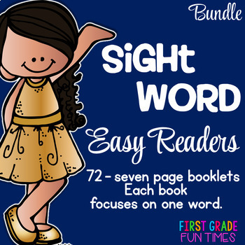 Sight Words Easy Readers Bundle 72 Books