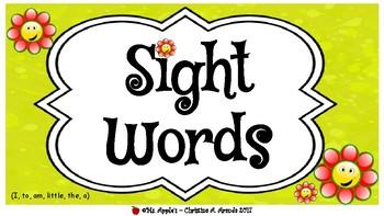 Sight Words Everywhere