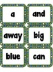 Sight Words FLASHCARDS- Daisies (Pre-Primer)