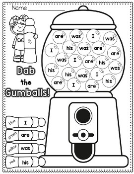 Sight Words FREE