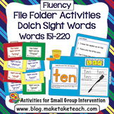 Sight Words - File Folder Activities Dolch Sight Word Lists 7, 8 and 9