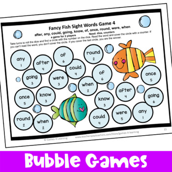 Dolch Sight Words Games First Grade List