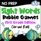 Dolch Sight Words First Grade List Games for Centers or Homework