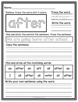 My Word Book  Third Grade Dolch Sight Words Writing Practice   A to likewise First Grade Sight Word Worksheets and Activities by CreativeCOTA furthermore Kindergarten Sight Word Worksheets likewise Free Worksheets Liry   Download and Print Worksheets   Free on likewise First Grade Sight Words Worksheets 1st Grade Sight Words Worksheets together with Free Worksheets Liry   Download and Print Worksheets   Free on as well First Grade Sight Words Worksheets Make Your Own Word For All Free besides Free First Grade Sight Word Coloring Pages   Free Coloring Pages For besides First Grade Sight Word Sentences   Confessions of a Homeer moreover 64 best Sight Words images on Pinterest in 2018   Sight word as well Cut and Paste Words Worksheet Set 1 in addition  also First Grade Sight Words Worksheets Dolch – Dansciscente moreover First Grade Sight Words   Flash Cards together with Dolch Sight Word Flashcards   Sparks furthermore . on first grade sight word worksheets