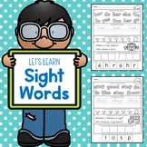 Sight Words Worksheets (First Grade Dolch List)