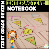 Sight Words Interactive Notebook Review {First Grade List}