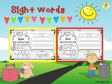 Sight Words First Grade {Set 1}